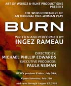 Burn at the Actors Forum Theatre